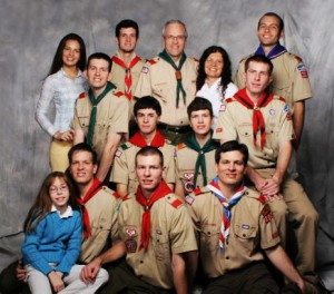Paul Smith Family Scout Picture about 2007
