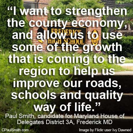 improve roads schools