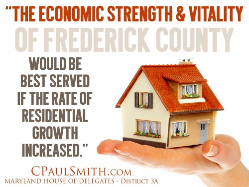 residential growth increased