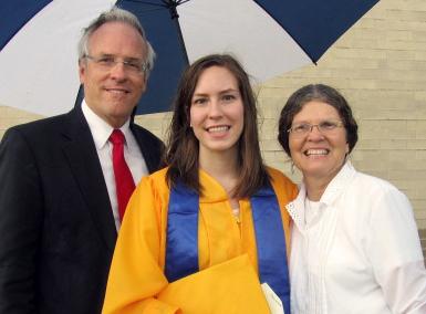 Christine graduation