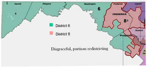 disgraceful partisan redistricting