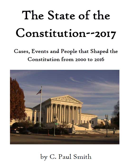 The State of the Constitution 2017 Cover