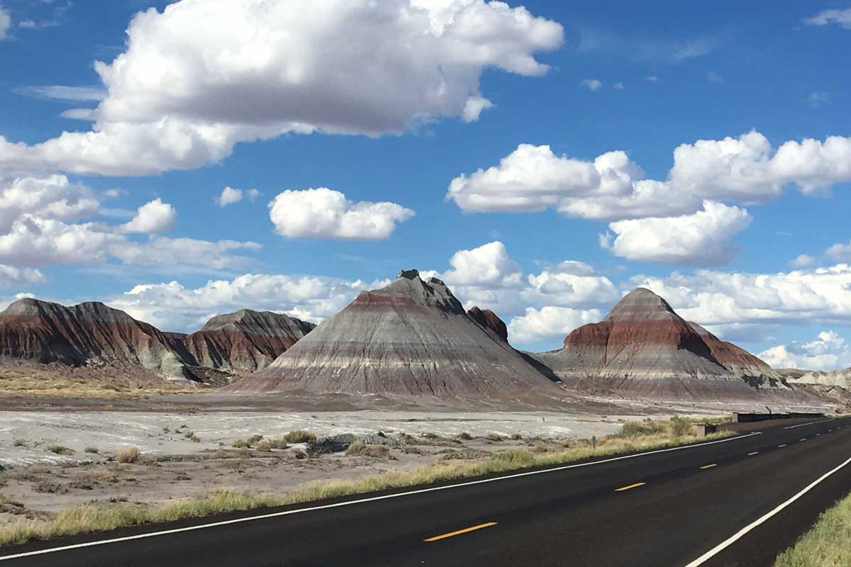 Hills at Petrified Forest National Park, Arizona