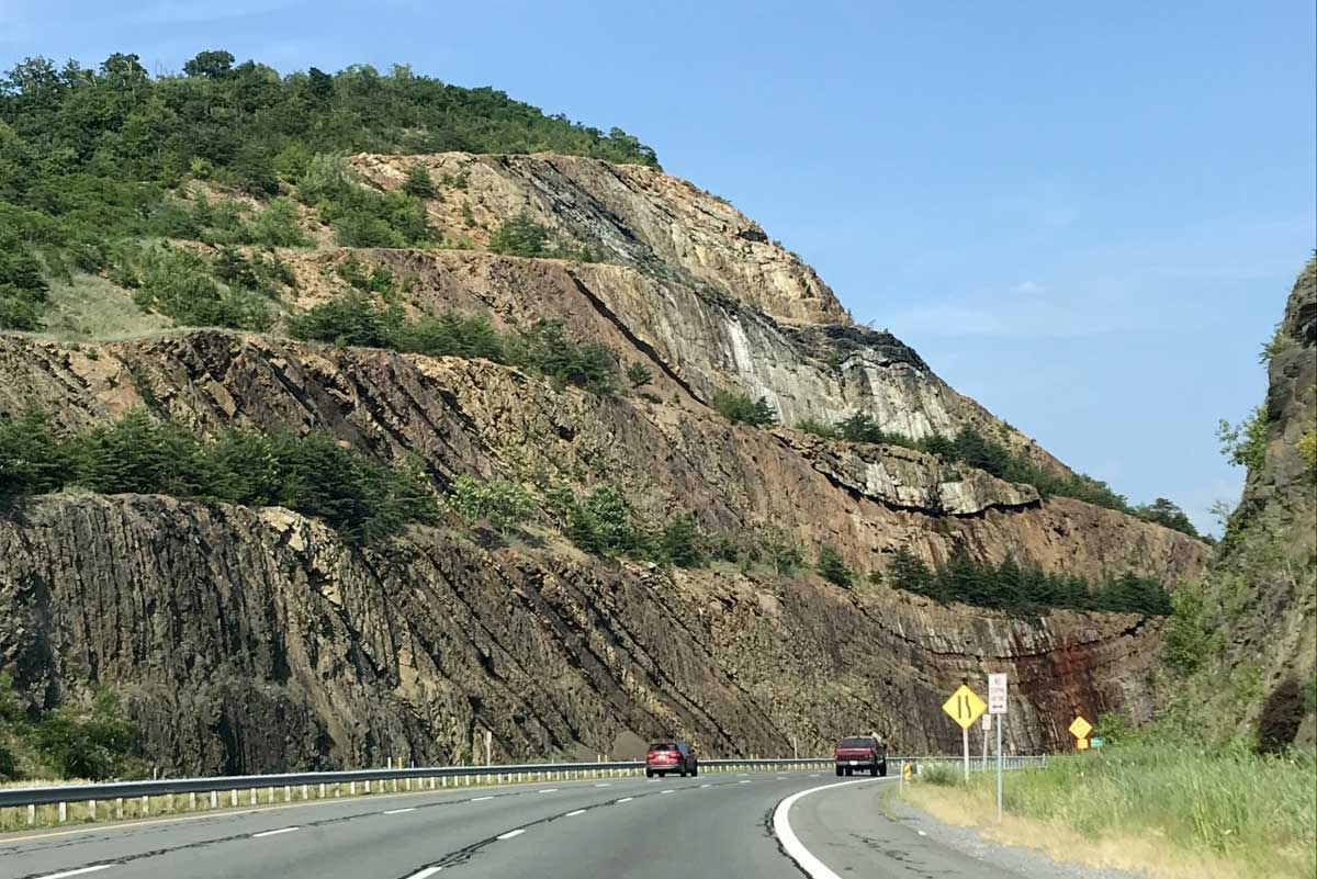 Sideling Hill, Maryland